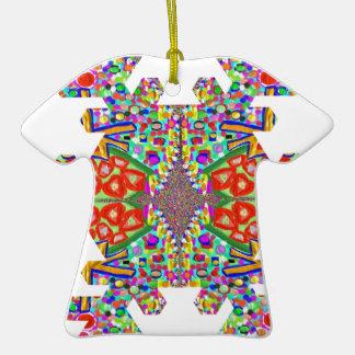 Festival de los revendedores de la PLANTILLA de la Adorno De Cerámica En Forma De Camiseta