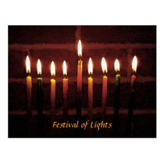 Festival de luces postales