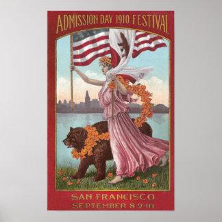 Festival de San Francisco de 1910 Posters