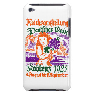 Festival de vino de 1925 alemanes Case-Mate iPod touch cárcasas