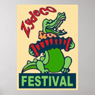 Festival de Zydeco Poster