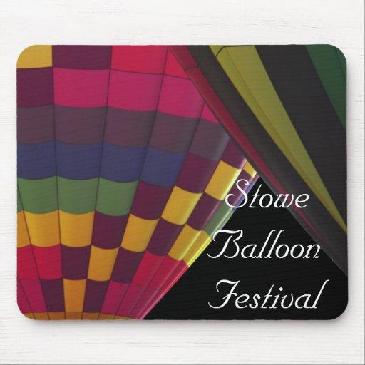 Festival del globo de Stowe Alfombrillas De Raton
