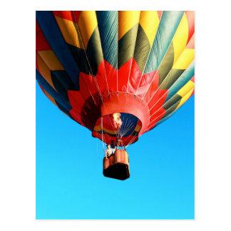 Festival del globo del aire caliente de la postal