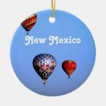 Festival del globo en New México Adorno Navideño Redondo De Cerámica