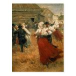 Festival del país, 1890s postales