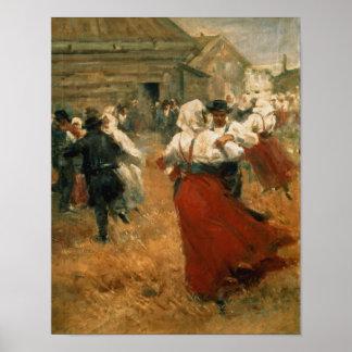 Festival del país 1890s poster