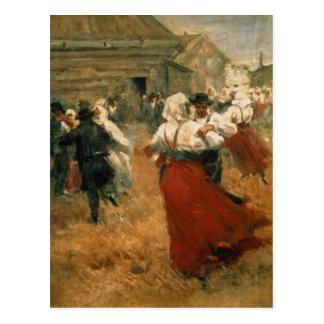 Festival del país, 1890s postal