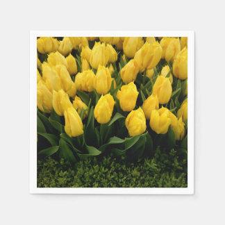 Festival del tulipán - 27 servilletas de papel