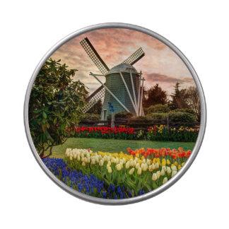 Festival del tulipán frascos de dulces