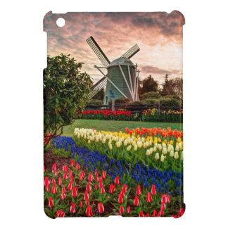 Festival del tulipán iPad mini fundas