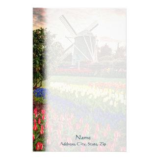 Festival del tulipán papelería personalizada