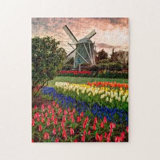 Festival del tulipán rompecabeza con fotos