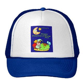 Festival feliz sueño día del 3 de enero gorras de camionero