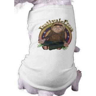 Festival Freak Hippy Pet Shirts Dog Tee