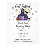 Festival frecuentado de la caída de Halloween de l Flyer Personalizado
