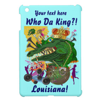 Festival Gator King  Important View Hints please iPad Mini Case