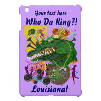 Festival Gator King  Important View Hints please iPad Mini Covers