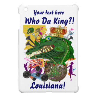 Festival Gator King  Important View Hints please iPad Mini Cover