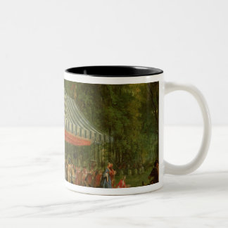 Festival Given by the Prince of Conti Two-Tone Coffee Mug