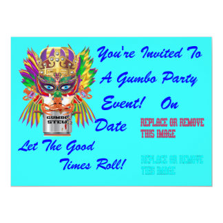 Festival Gumbo Queen View Hints please Card