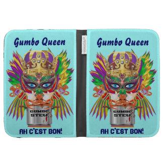 Festival Gumbo Queen View Hints please Kindle Case