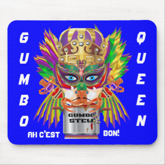 Festival Gumbo Queen View Hints please Mouse Pad
