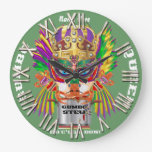 Festival Gumbo Queen View Hints please Wall Clock