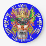 Festival Gumbo Queen View Hints please Wall Clocks