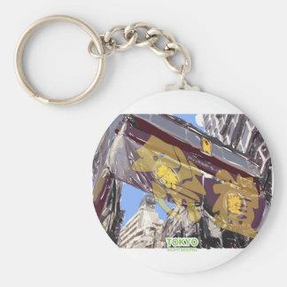 Festival in tokyo sightseeing keychain