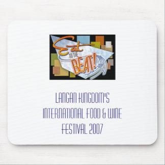 Festival internacional de la comida y de vino mouse pad