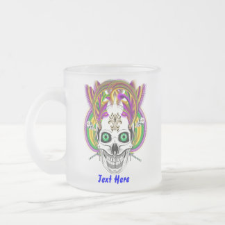 Festival King Important View Hints Frosted Glass Coffee Mug