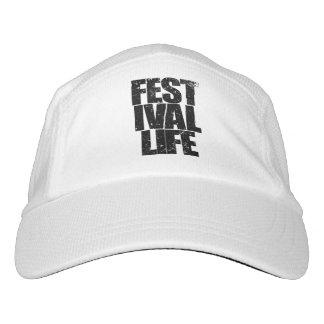 FESTIVAL LIFE (blk) Headsweats Hat