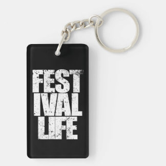 FESTIVAL LIFE KEYCHAIN