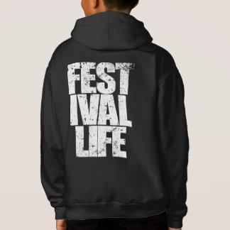 FESTIVAL LIFE (wht) Hoodie