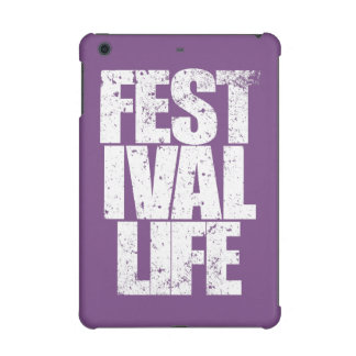 FESTIVAL LIFE (wht) iPad Mini Retina Cover