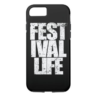 FESTIVAL LIFE (wht) iPhone 7 Case