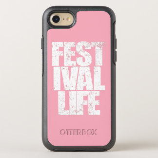 FESTIVAL LIFE (wht) OtterBox Symmetry iPhone 7 Case