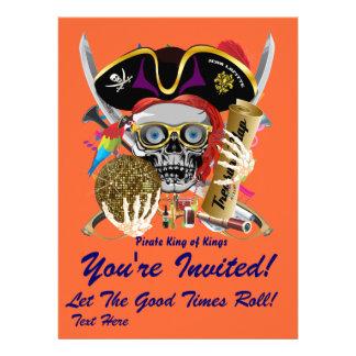 Festival Mardi Gras  Event  Please View Notes Personalized Invitations