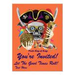"""Festival Mardi Gras  Event  Please View Notes 6.5"""" X 8.75"""" Invitation Card"""
