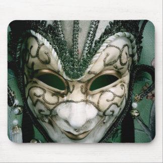 Festival mask mouse pad