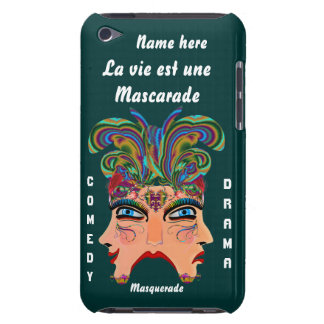 Festival Masquerade Comedy Drama View Hints Plse Barely There iPod Case