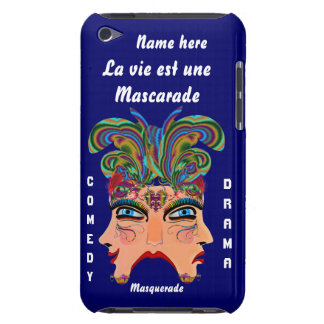 Festival Masquerade Comedy Drama View Hints Plse Case-Mate iPod Touch Case