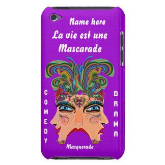 Festival Masquerade Comedy Drama View Hints Plse iPod Case-Mate Case