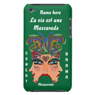 Festival Masquerade Comedy Drama View Hints Plse iPod Touch Case-Mate Case