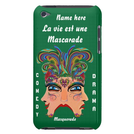 Festival Masquerade Comedy Drama View Hints Plse iPod Touch Case-Mate Case