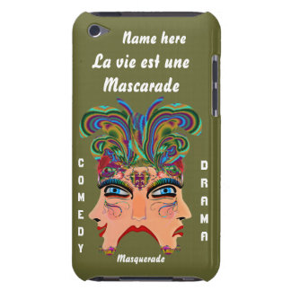 Festival Masquerade Comedy Drama View Hints Plse iPod Touch Cover