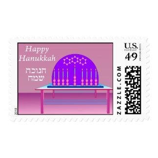 Festival of Hanukkah postage stamp