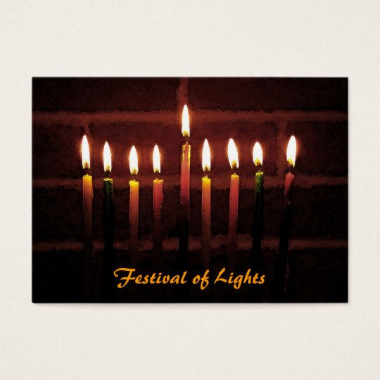 Festival of Lights ATC Business Card