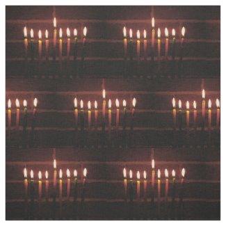 Festival of Lights Hanukkah Fabric