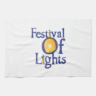Festival Of Lights Kitchen Towel